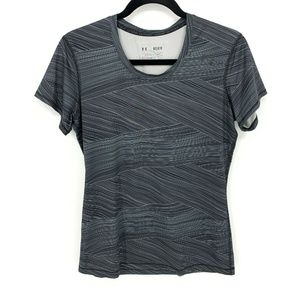 Under Armour Fitted HeatGear Striped T Shirt Top